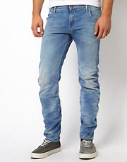 G Star Jeans Arc 3d Slim Light Aged