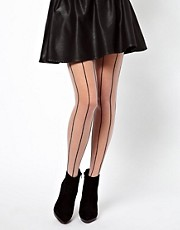ASOS Tulle Stripe Tights