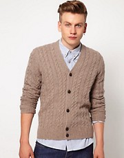 Ben Sherman Cable Cardigan