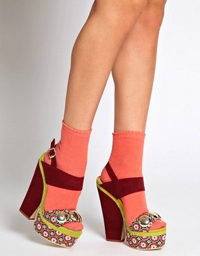 Image 3 ofASOS HELTER SKELTER Heeled Sandals