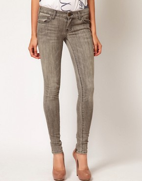 Image 1 of Current/Elliott The Back Zip Skinny Jeans