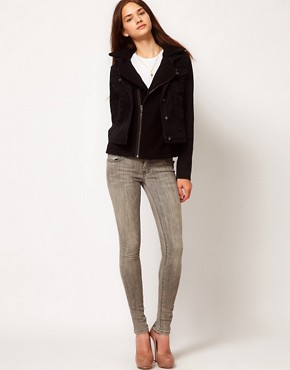 Image 4 of Current/Elliott The Back Zip Skinny Jeans