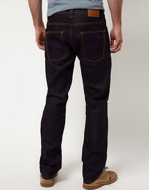 Image 2 ofNudie Average Joe Dry Organic Straight Jeans