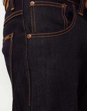 Image 3 ofNudie Average Joe Dry Organic Straight Jeans