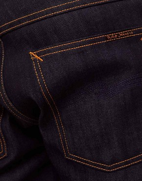 Image 4 ofNudie Average Joe Dry Organic Straight Jeans