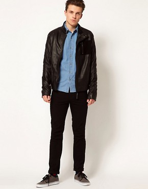 Image 4 ofLot 78 Leather Jacket Ethan