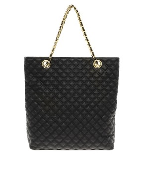 Image 1 ofASOS Quilted Shopper