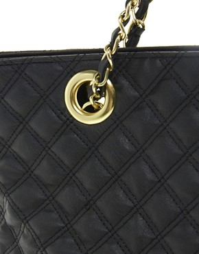 Image 4 of ASOS Quilted Shopper
