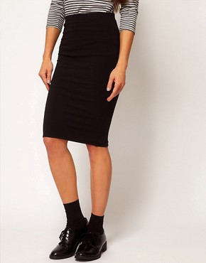 Image 4 ofPeople Tree Organic Cotton Pencil Skirt