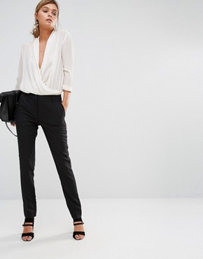 New Look Stretch Slim Leg Trousers