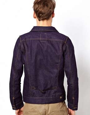 Image 2 ofG Star Jacket Slub Denim Large Patch Pocket