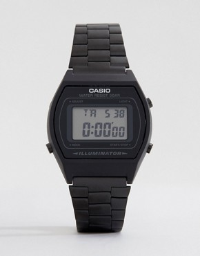 Image 1 ofCasio B640WB-1AEF Digital Black Stainless Steel Watch