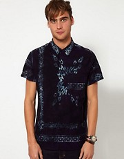 Neuw Shirt Short Sleeve Bandana Print
