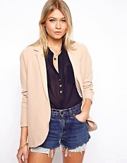 ASOS &ndash; berdimensionaler Blazer aus hochwertigem Kreppstoff
