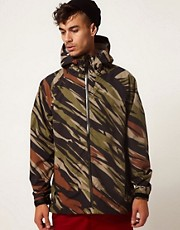 Addict Jacket Halo Technical Waterproof Hooded Camo