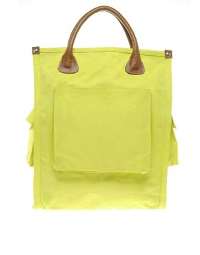 Image 1 ofKate Sheridan Leather Trim Shopper