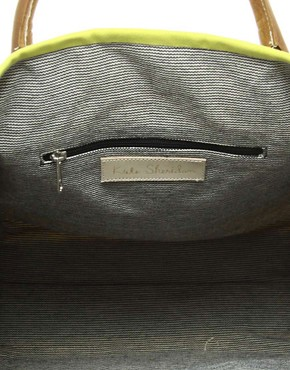 Image 2 ofKate Sheridan Leather Trim Shopper