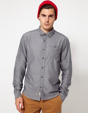 Image 1 ofSolid Oxford Shirt