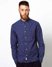Wood Wood Shirt with Polka Dot