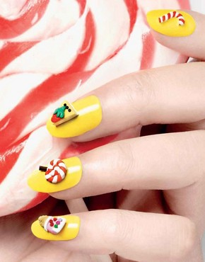 Image 3 ofNail Rock Frou Frou 3D Nail Apps - Seaside
