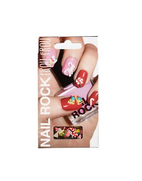 Image 1 ofNail Rock Frou Frou 3D Nail Apps - Seaside