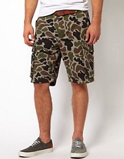 Addict  Sentry  Cargo-Shorts aus Ripstop mit Tarnmuster
