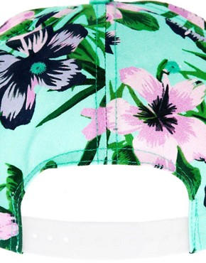 Image 3 of ASOS Hawaiian Print cap