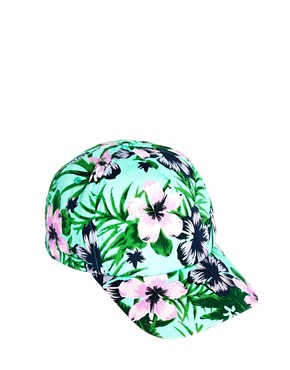 Image 4 of ASOS Hawaiian Print cap