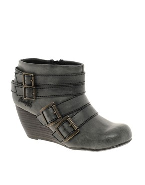 Image 1 ofBlowfish Bicker Wedge Ankle Boot