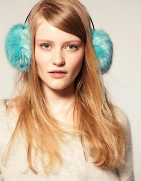 Image 1 of ASOS Faux Fur Earmuffs