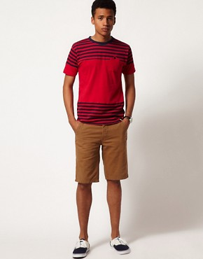 Image 4 ofBellfield T-Shirt with Block Stripes