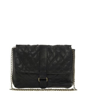 Image 1 ofJocasi Leather Small Quilted Shoulder Bag
