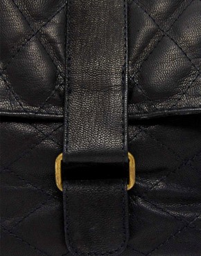 Image 4 ofJocasi Leather Small Quilted Shoulder Bag