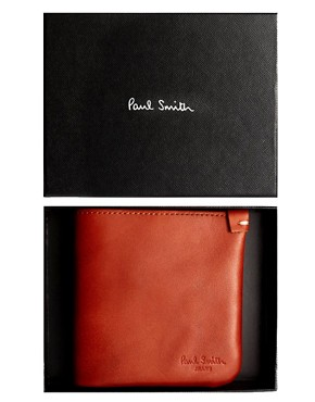 Image 3 ofPaul Smith Jeans Leather Billfold Wallet