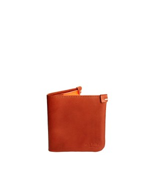 Image 1 ofPaul Smith Jeans Leather Billfold Wallet