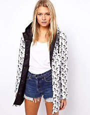 ASOS Daisy Print Trench