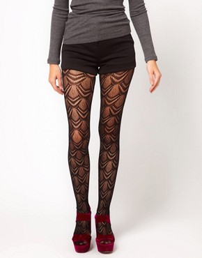 Image 2 ofGipsy Fan Net Tights