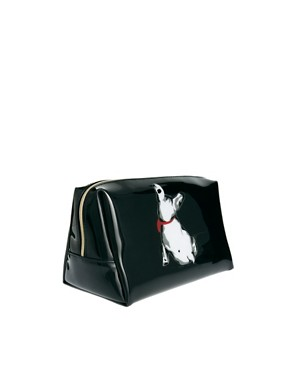 Image 2 ofTed Baker French Bulldog Print Large Washbag