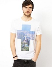 ASOS T-Shirt With Rio Print