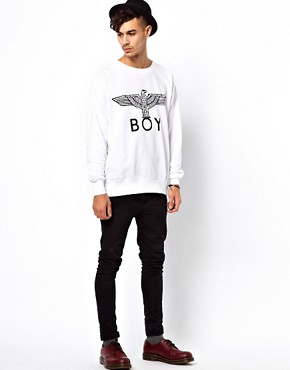 Image 4 ofBOY London Sweat with Eagle Print