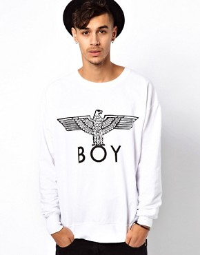 Image 1 ofBOY London Sweat with Eagle Print