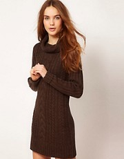 A Wear Cable Knit Dress