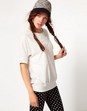 b + ab Lace Insert Top