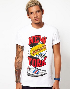 Image 1 ofAdidas Originals New York T-Shirt