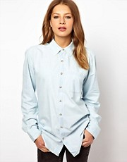 American Apparel Denim Shirt