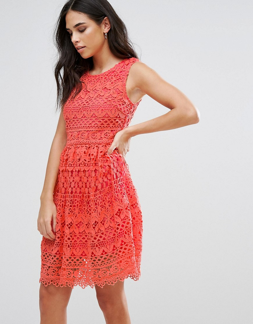 Liquorish Lace Mini Dress