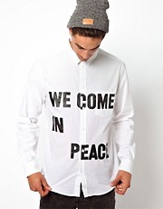Cheap Monday We Come In Peace Shirt