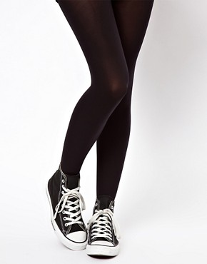 Image 1 ofASOS 90 Denier Supportive Tights