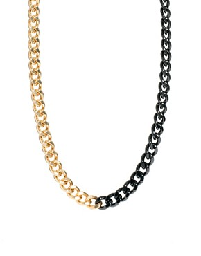Image 1 of ASOS Curb Chain Necklace