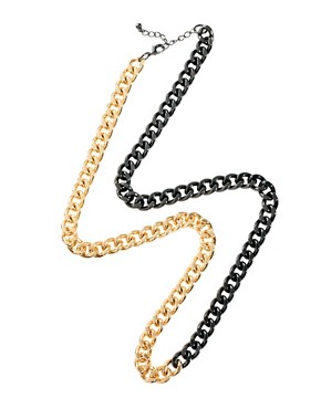 Image 2 of ASOS Curb Chain Necklace